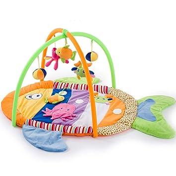 Amazon.com : Baby Crawling Mat Game Blanket Colorful Fish ...