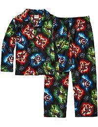 Avengers Boys 2-Piece Flannel Pajama Set, Size 4