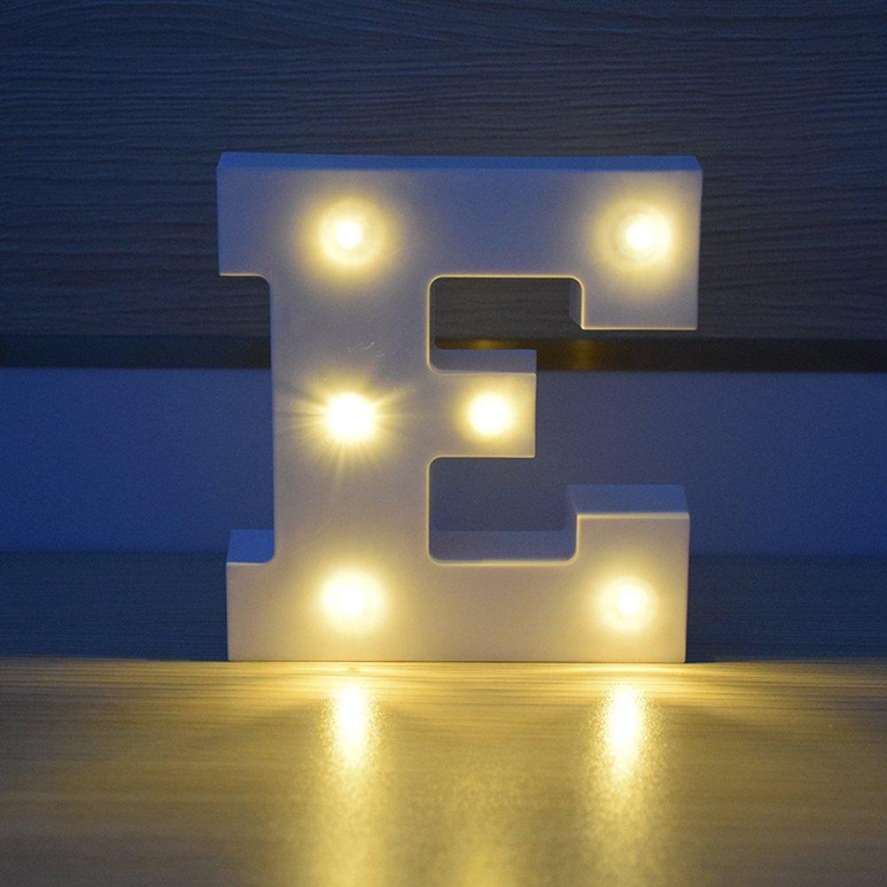 Amazon.com: artstore Letra del alfabeto funciona con pilas ...
