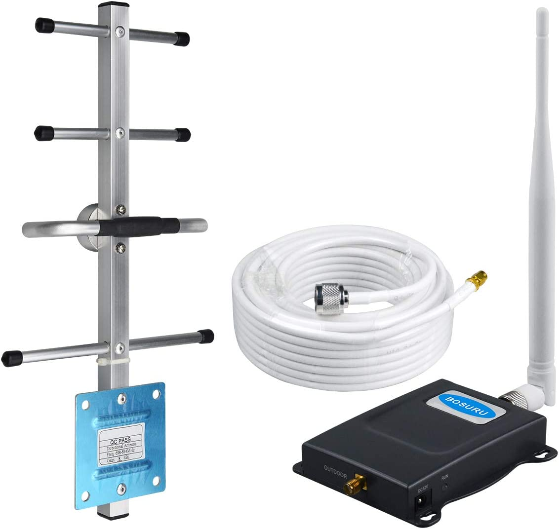Cell Phone Signal Booster Verizon Signal Booster 4G LTE Band 13 Cell Phone Booster Verizon Cell Signal Booster Verizon Cell Booster Repeater Signal Amplifier Kit Home Cell Extender Boost Voice+Data