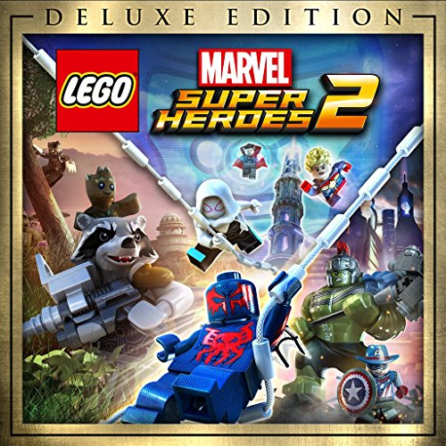 Lego Marvel Super Heroes 2 Deluxe Edition - PS4 [Digital Code] by Warner Bros Interactive. Entertainment, Inc.