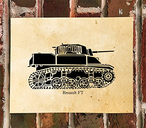 killerbeemoto-limited-print-renault-ft-world-war-one-tank-print-1-of-100
