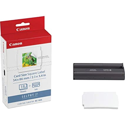 Canon Kc 18 Is 5 X 5cm Sticker Papier Für Selphy Drucker