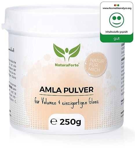 Amla en Polvo 250 gr 100% Puro y Natural de NaturaForte | Champú y Acondicionador
