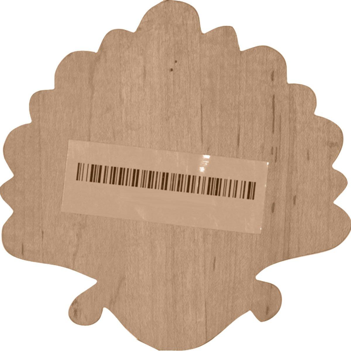 Ekena Millwork ONL05X05X01FOMA-CASE-2 Onlay W x 5 H x 1//2 D Maple