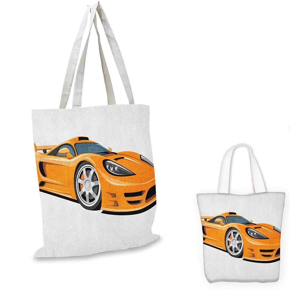 正規代理店 CarsOrange スポーツカーファストレーシングロードスターモダン自動車技術ペールオレンジブラックシルバー。 15