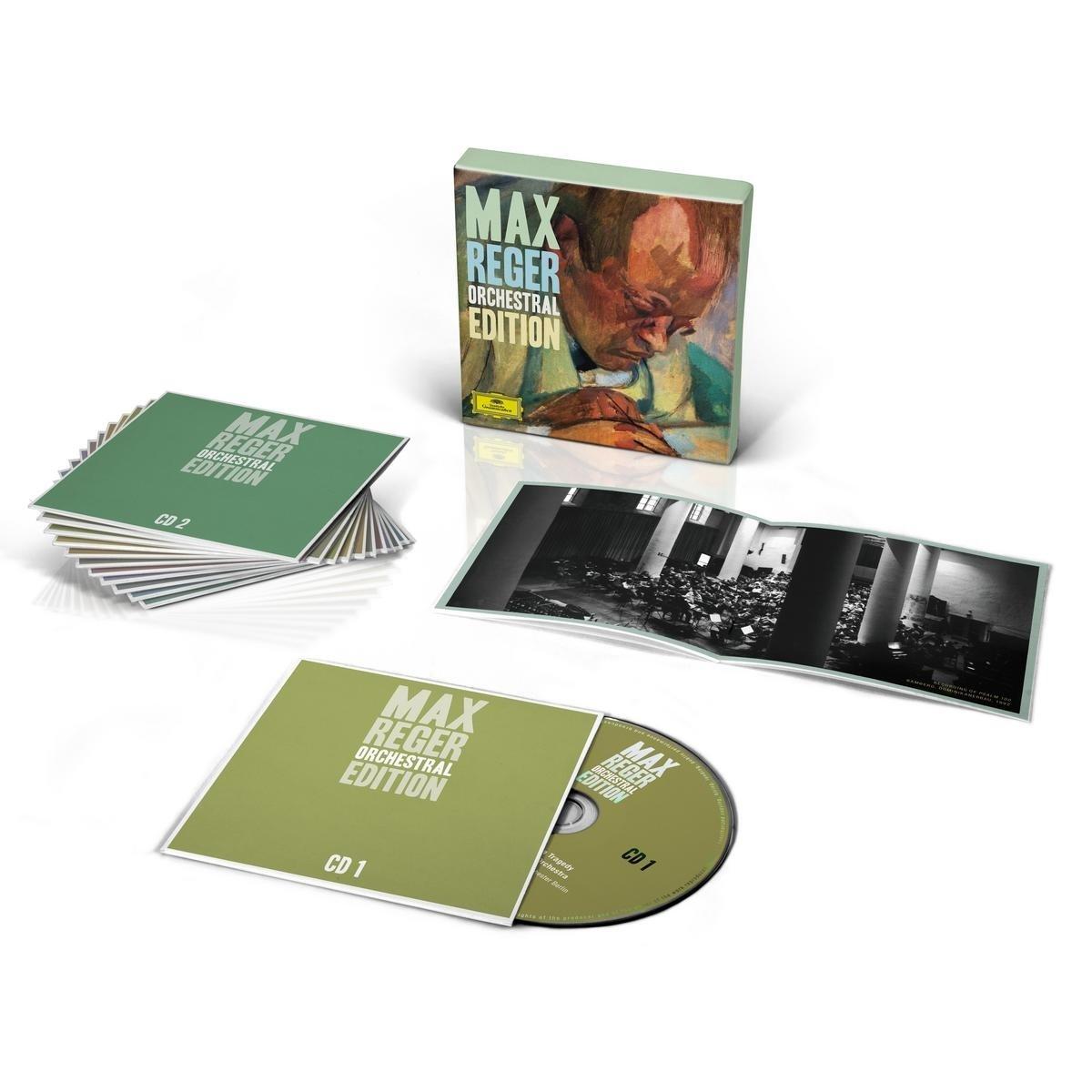 Max Reger - Orchestral Edition [12 CD] by Deutsche Grammophon