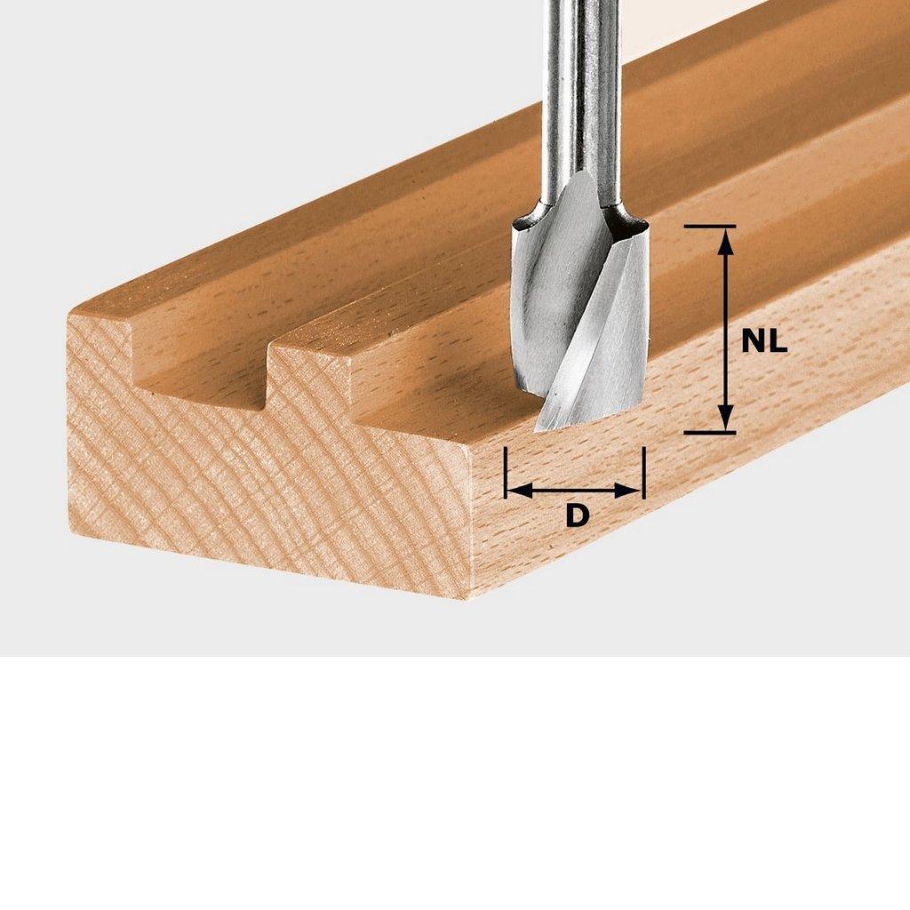 FESTOOL Spiralnutfr/äser HW Schaft 8 mm HW Spi S8 D8//25-490979