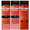 L'Oreal Excellence HiColor Red HiLights
