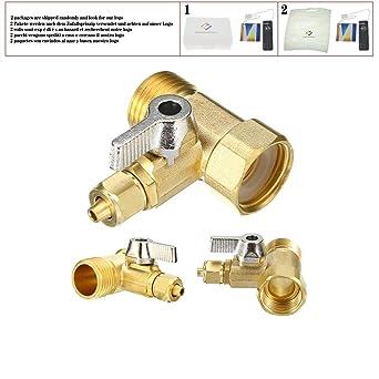 Válvula de filtro de agua para grifo, sistema de ósmosis inversa ...