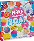 Making soap has never been this easy! KLUTZ brings you a complete kit for melting and molding up to 10 soaps from scratch. With the included soap molds, bright colors, coconut papaya fragrance, soap stickers, and skin-safe glitter, you'll be well on ...