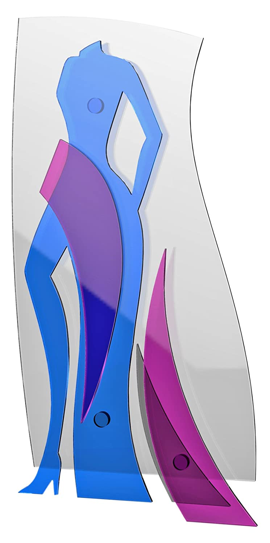 Plexilab 242 Plexiglas-Platte Body Woman mehrfarbig 1500 x 800 mm