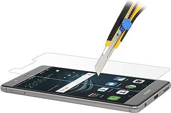 StilGut display protettivo in vetro temperato ultraresistente e invisibile per Huawei P9 Plus 2 pezzi