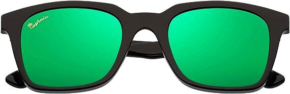 Capraia Vespolina Amplias Rectangulares Vintage Gafas de Sol ...