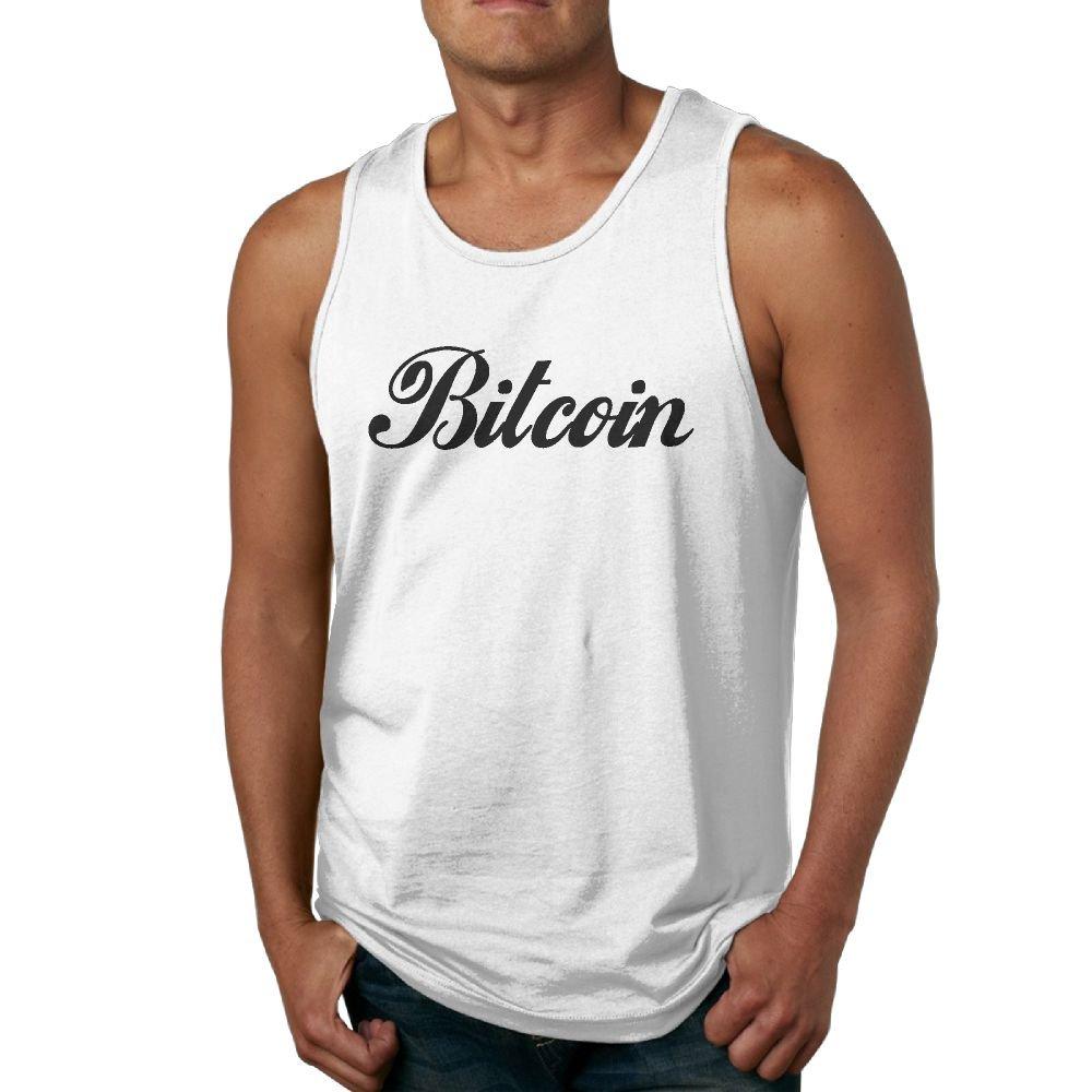 NRYDYMM Mens Tank Top Mining Bitcoin Since 2010 Exercise Tank 100/% Cotton Bodybuilding Vest