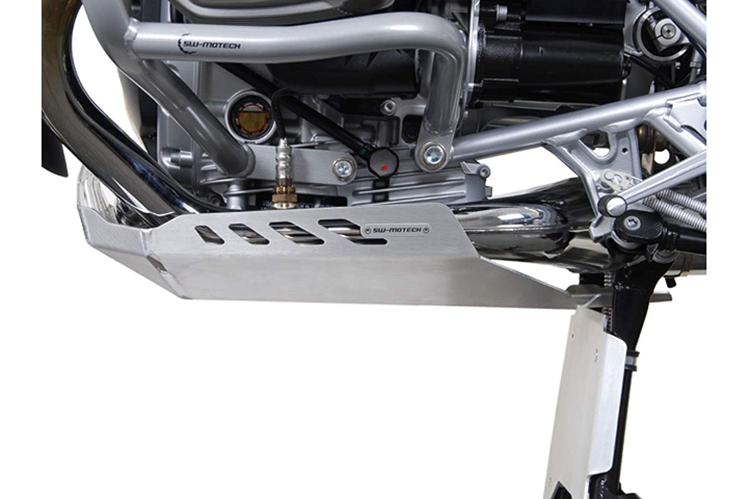 SW-MOTECH Aluminum Engine Guard Skid Plate for BMW R1200GS 04-12 /& R1200GS Adventure 06-13 SW-MOTECH Bags-Connection MSS.07.706.10000//S