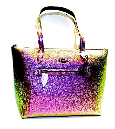Coach Hologram Leather Taylor Tote