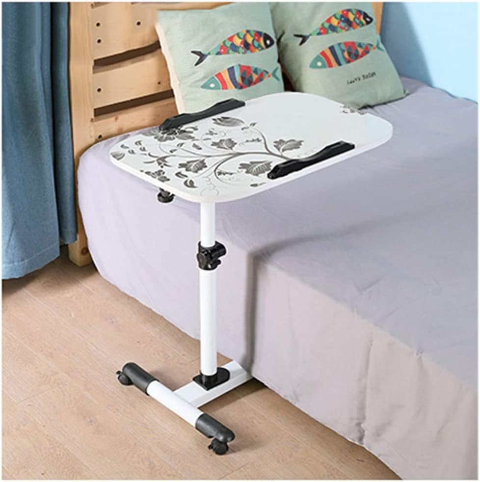 Computer Table for Sofa Folding Table,Laptop Stand Ergonomic,Portable Standing Desk,Adjustable Angle and Height Laptop Desk,Sofa//Bed Side Table Standing Desk Riser Couch and Floor