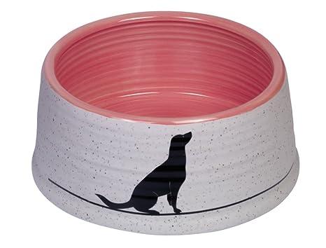 Colore Esterno Casa Salmone : Nobby ciotola in ceramica luna colore grigio chiaro