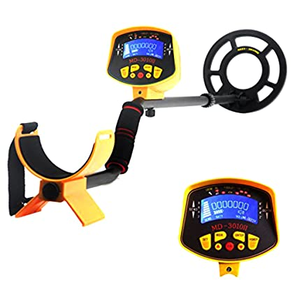 Amazon.com : gazechimp MD-3010 II Metal Detector LCD Display DEEP Treasure Hunter Waterproof Coil : Garden & Outdoor