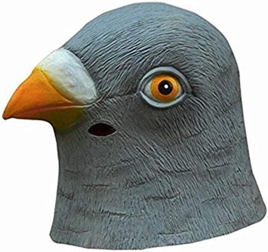 XIN Máscara de paloma linda Látex cabeza de pájaro gigante Disfraz ...