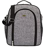 Picnic Wine & Cheese Back Pack Canvas. Durable And. Density Canvas Provides Practical Reasonable Space Bag
