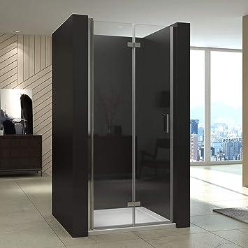 Cabina de ducha Ducha Puerta Mampara Puerta plegable ducha pared: Amazon.es: Bricolaje y herramientas