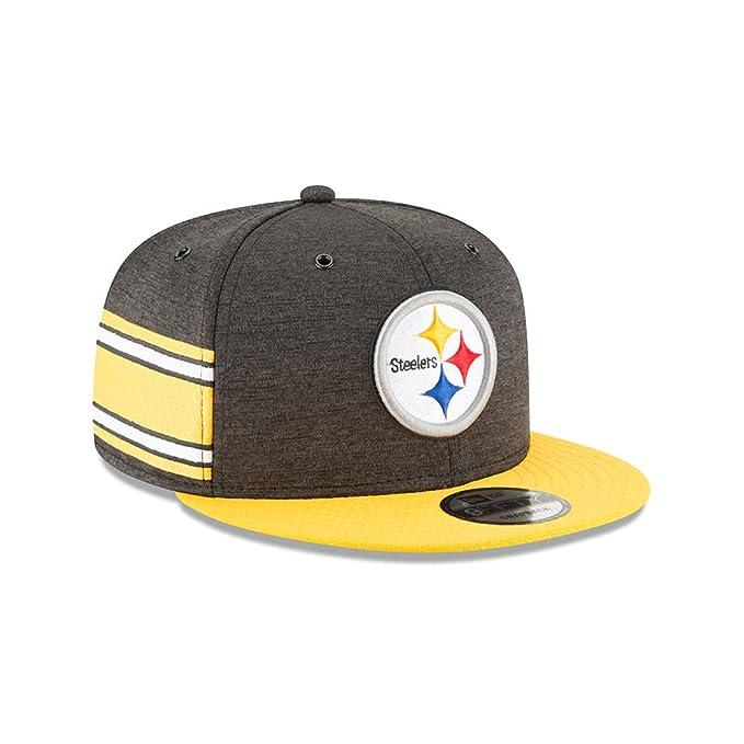 01285991780 New Era Cappellino 9Fifty On-Field 18 Steelers Baseball cap NFL  Amazon.it   Sport e tempo libero
