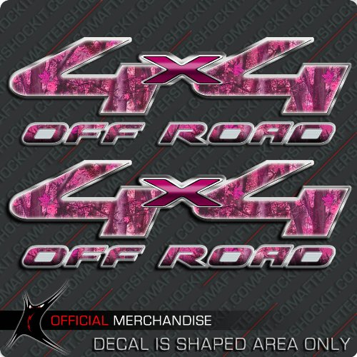 4x4-Pink-Camo-Hunting-Truck-Decals