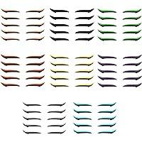 Lewpox 40 pares de adesivos de delineador, adesivos de maquiagem para pálpebras, adesivos de delineador para olhos…