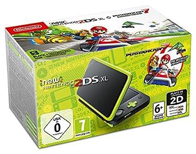 New Nintendo 2DS XL Nero e Lime + Mario Kart 7 [Importación ...