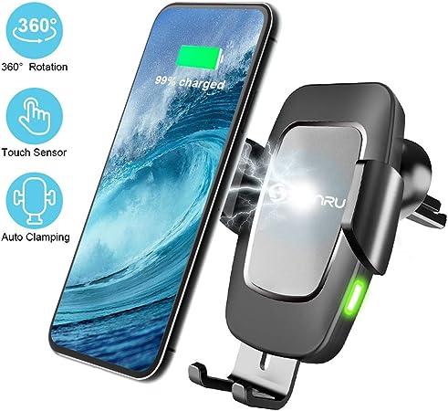 Qi Handy Halterung Für Auto Wireless Charger Kfz Elektronik