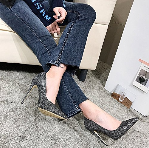 Shoes Shoes Elegant 11Cm 38 Sharp Leisure Women'S Bridesmaid Heads Heels Shoes Banquets Fine MDRW Lady Single Heels Crystal High Wedding Spring Silver Work Shoes Shoes FqAxW1