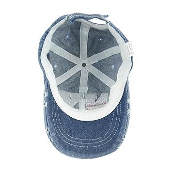 FakeFace Chapeau de Soleil B/éb/é Casquette Baseball//Visi/ère//NY Plate Protection Solaire Chapeau de Plage//Hip-Hop//Voyage//Camping Anti-UV Taille R/églable Bob Hat pour Enfants Filles Gar/çons 3-12 Ans