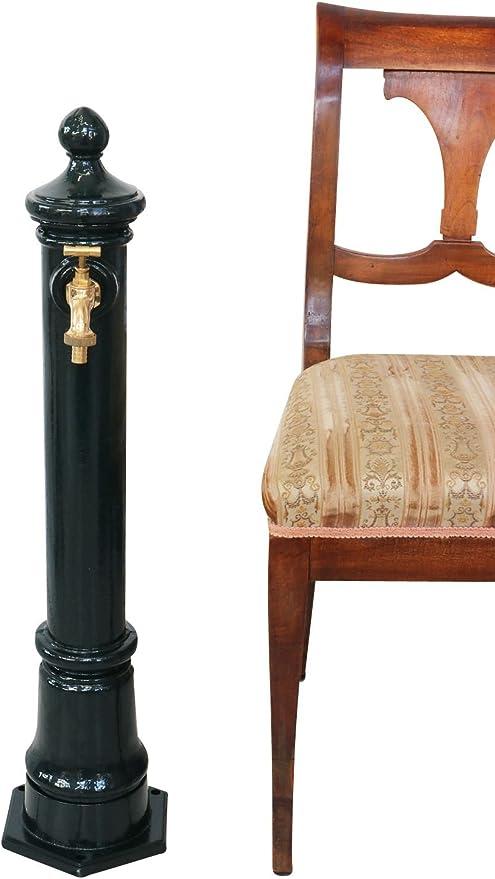 Fontaine 80cm aluminium évier style antique marron