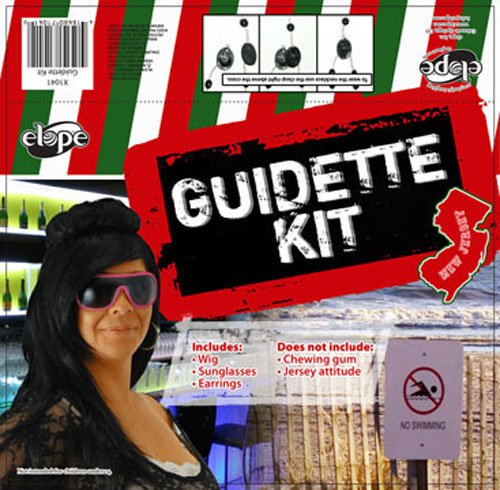 Guidette Kit Costume Accessory - Guidette Costumes Kit