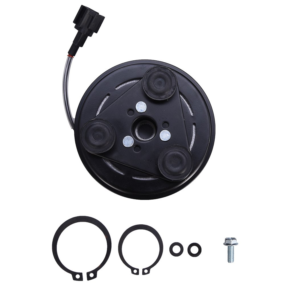 Facaimo 60-02396 AC Compressor Clutch Assembly AC Clutch Fits For Nissan Versa /& Cube 2007 2008 2009 2010 2011