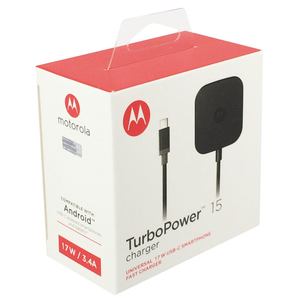 motorola TurboPower 15 USB-C/Cargador Rápido Tipo C: Amazon.es: Electrónica