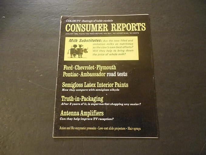 Consumer Reports Jan 1969 Antenna Amplifiers (Whatu0027s An Antenna?)