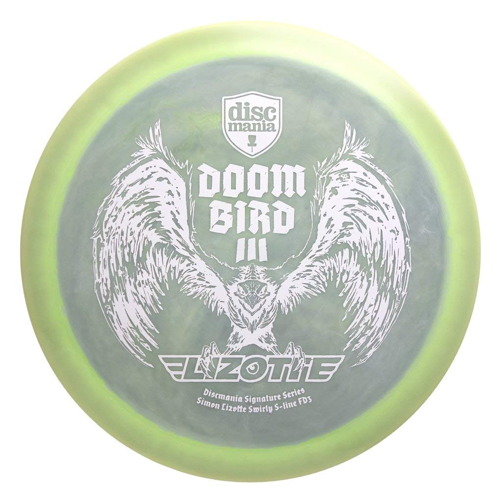 Discmania Limited Edition Signature Simon Lizotte Doom Bird III Swirly S-Line FD3 Fairway Driver Golf Disc [Colors May Vary] - 173-175g by Discmania