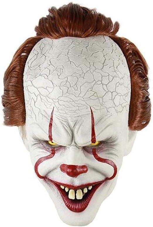 RTGFS Horror Payaso Joker máscara Payaso máscara Halloween Cosplay ...