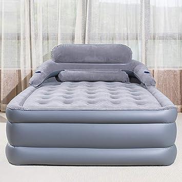Cama neumática colchón inflable individual/doble/doble ...