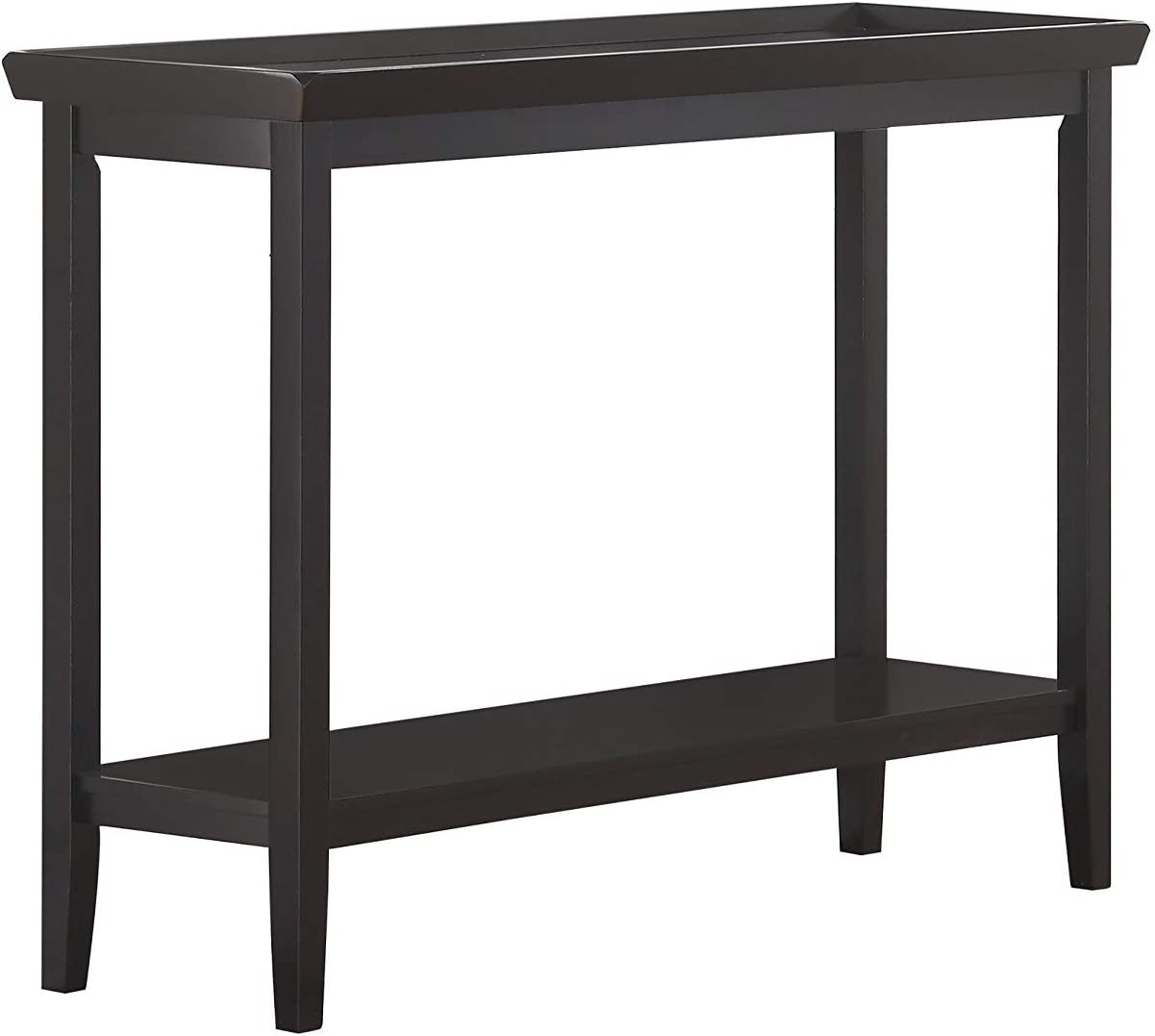 Convenience Concepts Ledgewood Console Table, Black