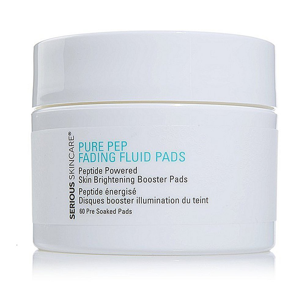 Serious Skincare Pure-Pep Fading Fluid Pads