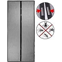 SWEEPID Mosquitera magnética para puerta, 100 x 210
