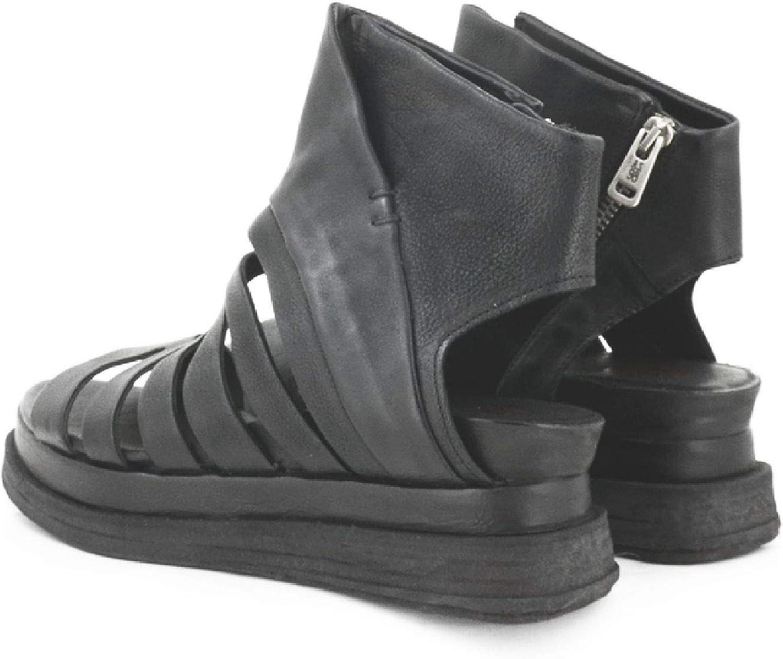 A.S.98 Sandalo da Donna Modello Lagos Art. A15001 Nero