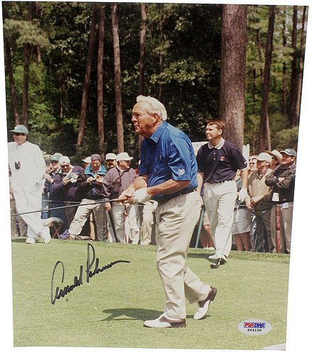Arnold Palmer Signed Photo - 7
