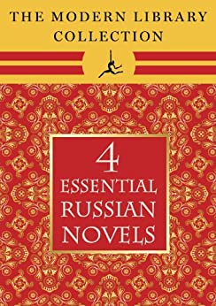 The Modern Library Collection Essential Russian Novels 4-Book Bundle by [Tolstoy, Leo, Dostoevsky, Fyodor]
