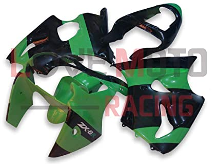 Amazon.com: LoveMoto Fairings for kawasaki ZX6R ZX-6R 2000 ...