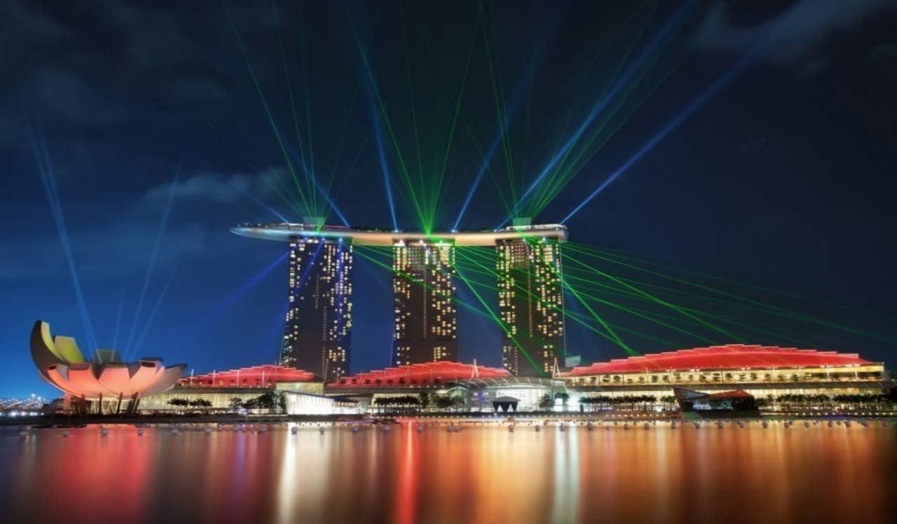 Diamante Singapore Marina Bay 40X50Cm Diamante Redondo